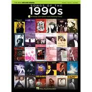 Songs of the 1990s: Piano / Vocal / Guitar by Hal Leonard Corporation, 9781495000362