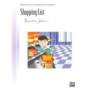 Shopping List by Johnson, Bernadine (COP), 9781470620363