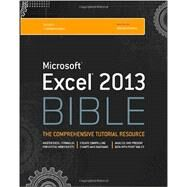 Excel 2013 Bible by Walkenbach, John, 9781118490365