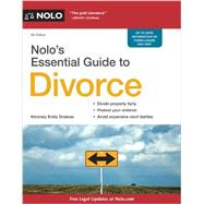 Nolo's Essential Guide to Divorce by Doskow, Emily, 9781413320367