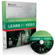 Adobe Dreamweaver CS6 : Learn by Video: Core Training in Web Communication by video2brain; Powers, David, 9780321840370