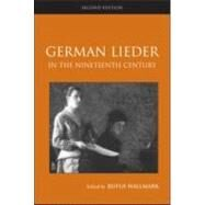German Lieder in the Nineteenth Century by Hallmark; Rufus, 9780415990370