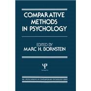 Comparative Methods in Psychology by Bornstein; M. H., 9780898590371
