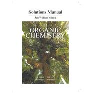 Student's Solutions Manual for Organic Chemistry by Wade, Leroy G.; Simek, Jan W., 9780134160375