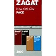ZagatSurvey 2009 New York City Pack by Zagat Survey, 9781604780376