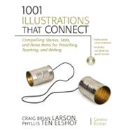 1001 Illustrations That Connect : Compelling Stories, Stats, and News Items for Preaching, Teaching, and Writing by Craig Brian Larson and Phyllis Ten Elshof, General Editors, 9780310280378