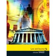 Law and Society by Vago,Steven, 9780205820382