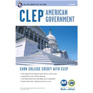 CLEP American Government with Online Practice Exams by Jones, Preston, 9780738610382