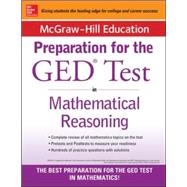 McGraw-Hill Education Strategies for the GED Test in Mathematical Reasoning by Unknown, 9780071840385