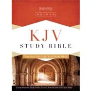 KJV Study Bible, Black Genuine Leather by Unknown, 9781433600388