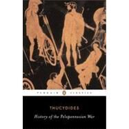 The History of the Peloponnesian War Revised Edition by Unknown, 9780140440393
