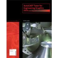 AutoCAD Tutor for Engineering Graphics 2013 and Beyond (with CAD Connect Web Site Printed Access Card) by Lang, Kevin, 9781133960393