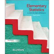 Elementary Statistics: A Step By Step Approach by Bluman, Allan, 9780077460396