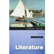 Literature A Introduction to Fiction, Poetry, Drama, and Writing, Interactive Edition by Kennedy, X. J.; Gioia, Dana, 9780205230396