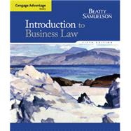 Cengage Advantage Books: Introduction to Business Law by Beatty, Jeffrey F.; Samuelson, Susan S., 9781285860398