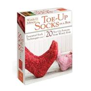 Toe-up Socks in a Box: Essential Sock Techniques and 20 Toe-up Patterns from Wendy Knits by JOHNSON WENDY D., 9780307720399