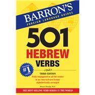 501 Hebrew Verbs by Bolozky, Shmuel, 9781438010403