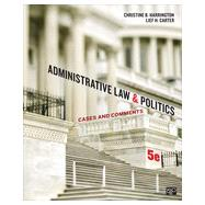 Administrative Law and Politics by Harrington, Christine B.; Carter, Lief H., 9781452240404