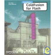 Foundation Coldfusion for Flash by Fiaz Khan, 9781903450406