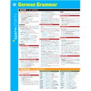German Grammar SparkCharts by Unknown, 9781411470408