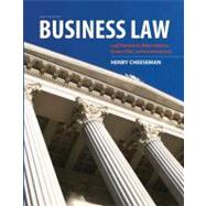 Business Law by Cheeseman, Henry R., 9780132890410