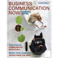 Business Communication Now, 2nd Canadian Edition by Kitty O. Locker;   Isobel Findlay, 9780070780415
