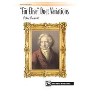 Für Elise Duet Variations by Rudzik, Peter (COP), 9781470640415