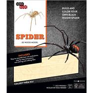 Incredibuilds Spider 3D Wood Model by Insight Editions, 9781682980415