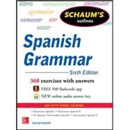 Schaum's Outline of Spanish Grammar, 6th Edition by Schmitt, Conrad, 9780071830416