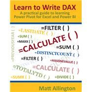 Learn to Write Dax by Allington, Matt, 9781615470419