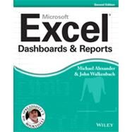 Excel Dashboards and Reports by Alexander, Michael; Walkenbach, John, 9781118490426