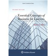 Essential Concepts of Business for Lawyers by Rhee, Robert J., 9781454870432