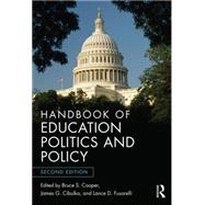 Handbook of Education Politics and Policy by Cooper; Bruce S., 9780415660440