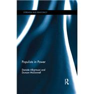 Populists in Power by Albertazzi; Daniele, 9781138670440