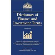 Dictionary of Finance and Investment Terms by Downes, John; Goodman, Jordan, 9781438010441