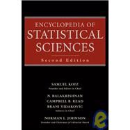 Encyclopedia of Statistical Sciences by Kotz, Samuel; Read, Campbell B.; Balakrishnan, N.; Vidakovic, Brani, 9780471150442