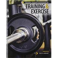 Principles Programs and Assessments for Training and Exercise by Airhart, Tony D., 9781465250445