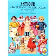 Antique Advertising Paper Dolls by Jendrick, Barbara W., 9780486240459