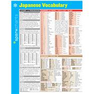 Japanese Vocabulary SparkCharts by Unknown, 9781411470460