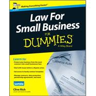 Law for Small Business for Dummies - Uk by Rich, Clive, 9781118970461
