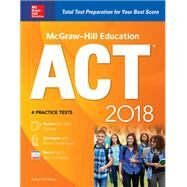 McGraw-Hill Education ACT 2018 by Dulan, Steven, 9781260010466