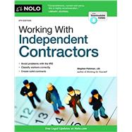 Working With Independent Contractors by Fishman, Stephen, 9781413320466