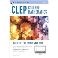 Clep College Math With Online Practice Tests by Rea Editors, 9780738610467