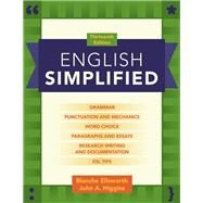 English Simplified by Ellsworth, Blanche, (Late); Higgins, John A., 9780205110469