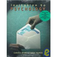 Invitation to Psychology by Wade, Carole; Tavris, Carol, 9780321060471