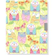 Pop Owls Locking Journal by Peter Pauper Press, 9781441320476