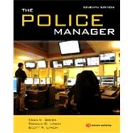 The Police Manager by Green; Egan, 9781455730476