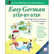 Easy German Step-by-Step by Swick, Ed, 9780071840477