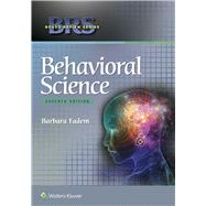 BRS Behavioral Science by Fadem, Barbara, 9781496310477