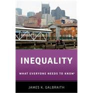 Inequality What Everyone Needs to Know® by Galbraith, James K., 9780190250478